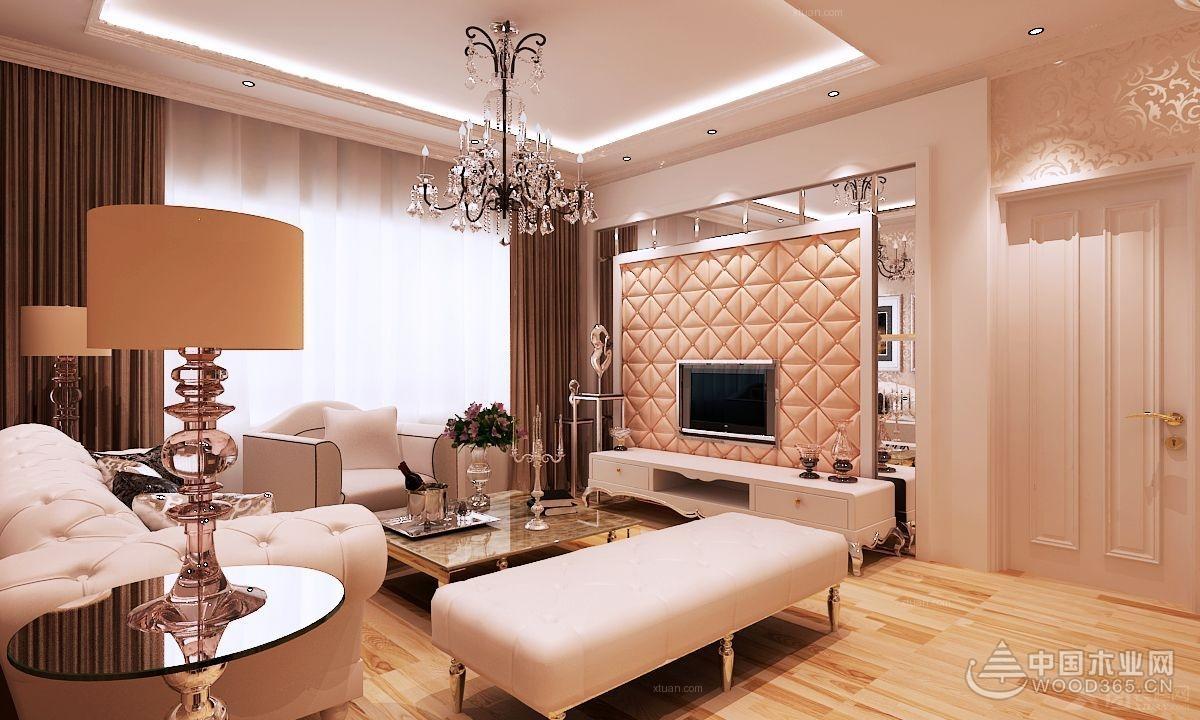 简欧客厅装修效果图,不一样的美图片
