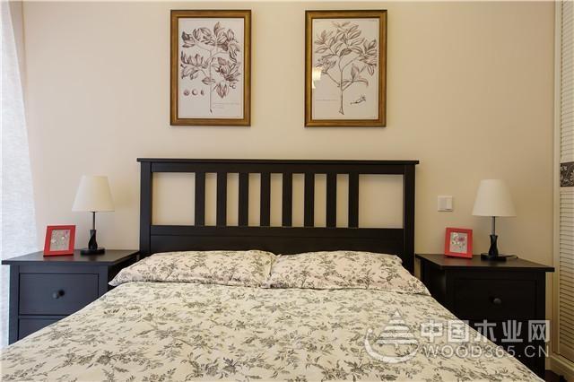 美式风格效果图欣赏,三居室140平米装修案例