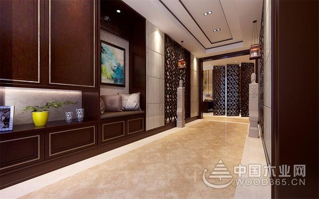 450平新东方风格叠拼别墅图片