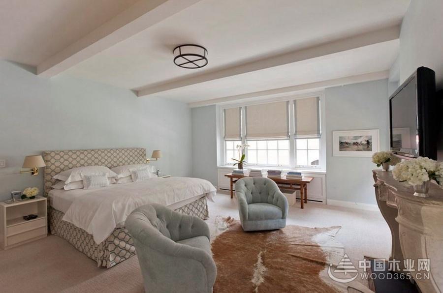 8款简欧卧室装修效果图,美丽的外表下,舒适性也俱佳