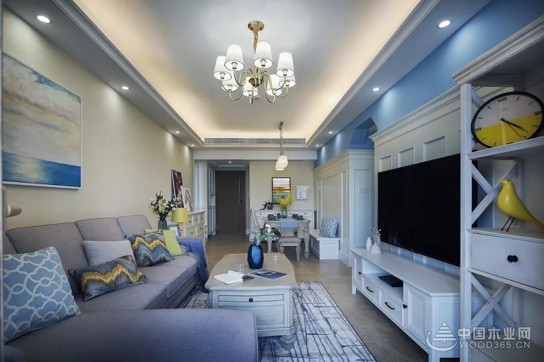 12万装出89平三室两厅装修效果图,过道装出了衣帽间的架势