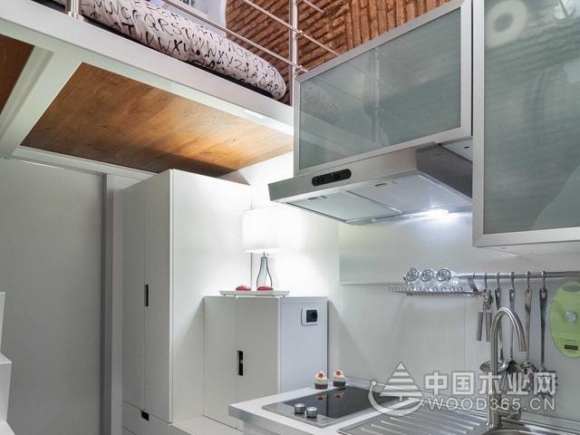 7平米的loft小复式设计,奇葩小户型改造方案