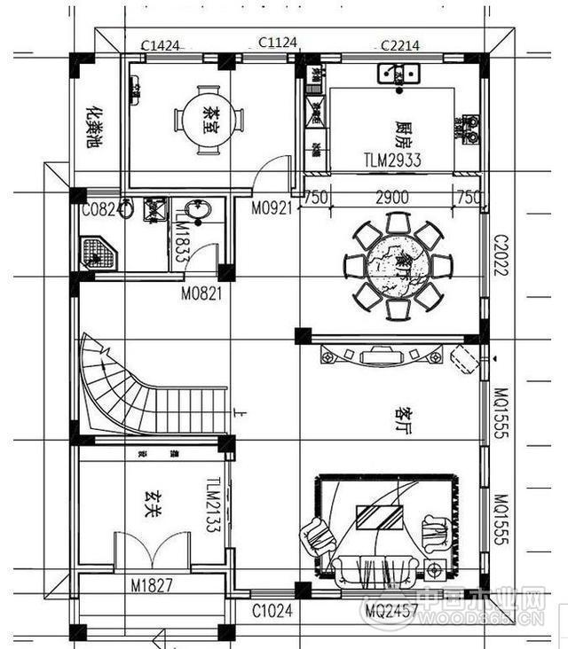 四层农村住房设计图,含外观图片,自建四层房屋推荐