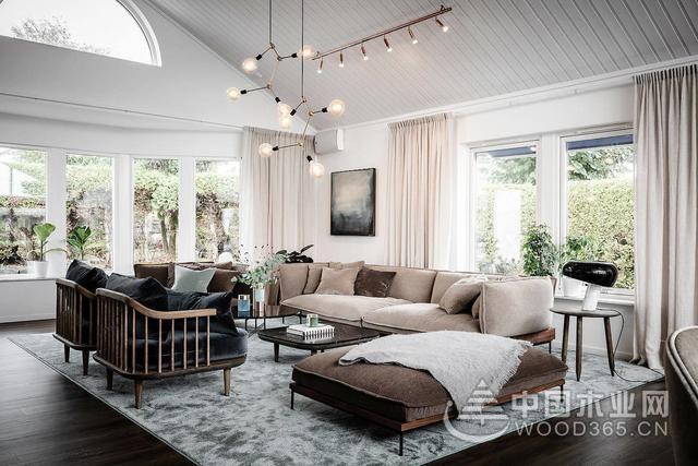 现代别墅室内装修效果图片