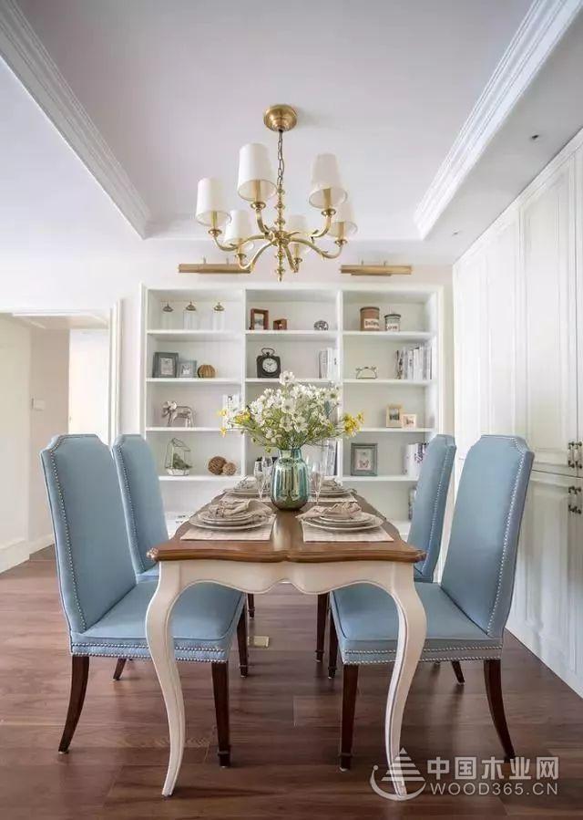 简约美式三房两厅设计效果图,这样的装修让你恋上回家的感觉!