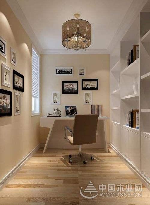 7款书房隔断装修效果图,空间分区明确井然有序