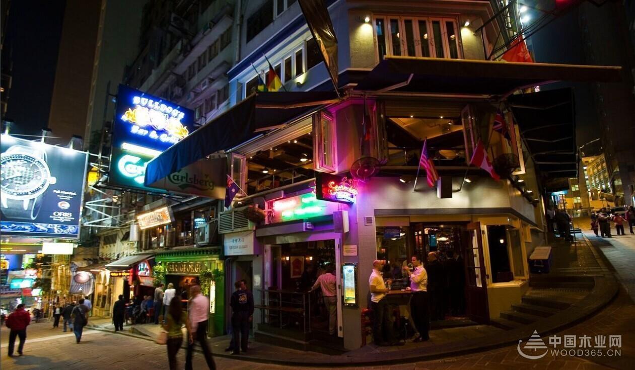 中国企业家_10张香港兰桂坊酒吧图片欣赏-中国木业网