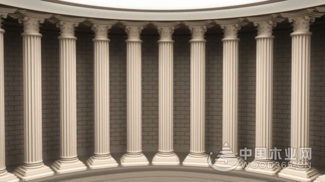 有特色的欧式门柱图片展示
