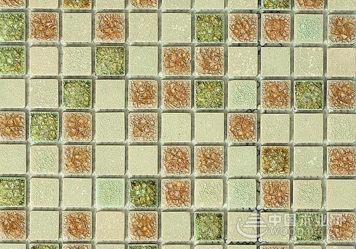 有创意的外墙马赛克瓷砖效果图片