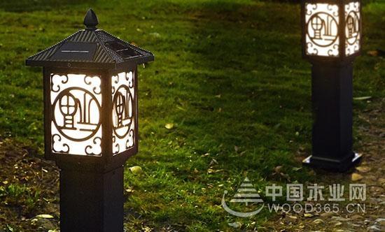 百变造型,一组好看的庭院草坪灯效果图片