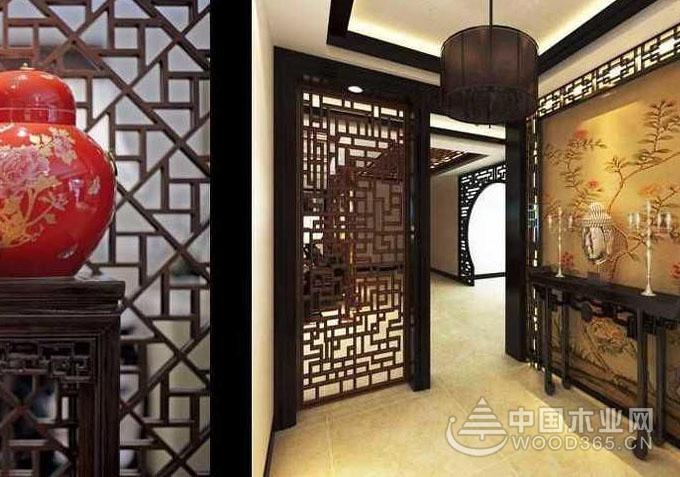 10款古典的中式雕花门图片欣赏