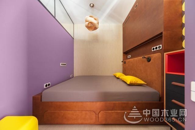 浅紫色房间效果图,打造唯美浪漫的卧室