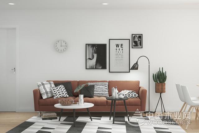 20款棕色沙发搭配效果图片,这样搭很好看
