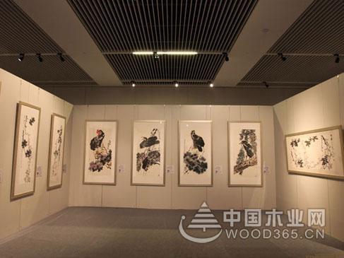 书画展厅设计效果图片欣赏图片