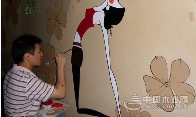 20张家装彩绘效果图片