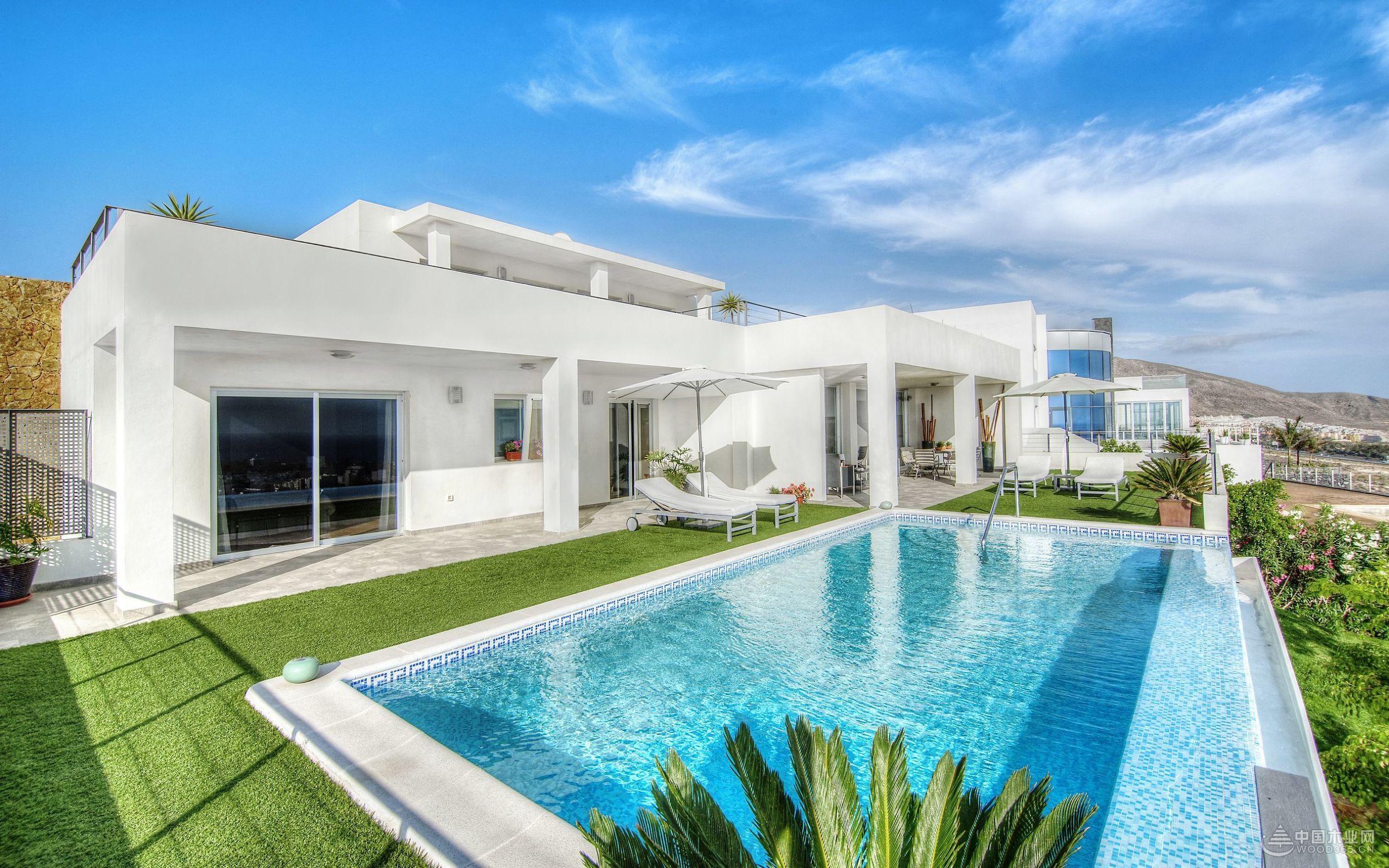 15款好看的私人别墅游泳池图片