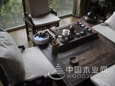 优雅娴静的茶室设计效果图片