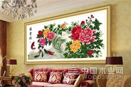 15款客厅十字绣图片展示