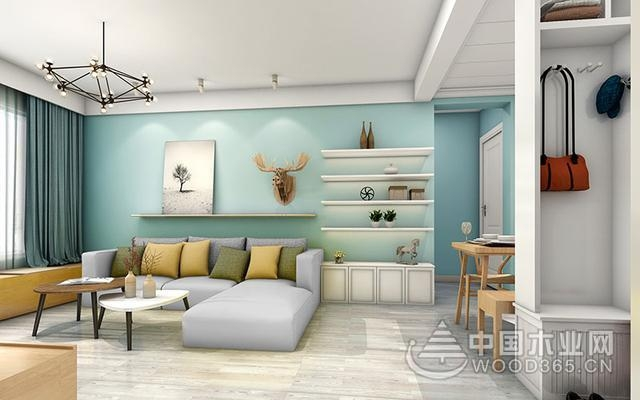 让人眼前一亮的客厅装修颜色搭配效果图