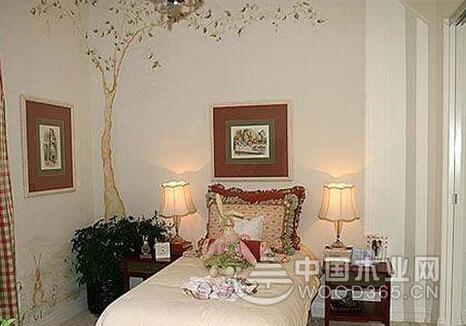 卧室墙贴图片,拥有一个不一样的卧室