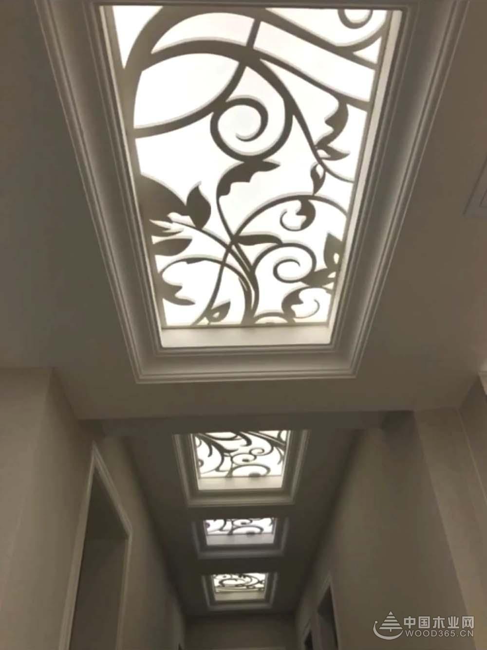 12款走廊吊顶装修效果图,不一样的感觉