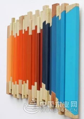 8款创意实木马赛克效果图片展示
