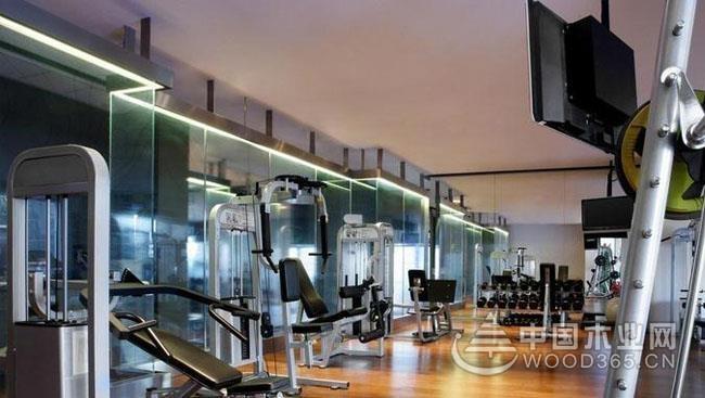 8张室内健身房效果图片