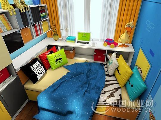 10款儿童房布置案例,这才是孩子的第二个教室!