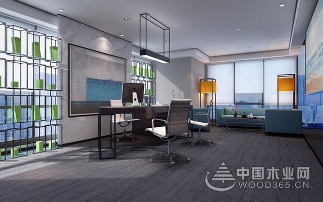 400平米現代化辦公室會議室裝修效果圖