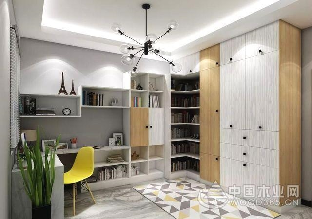 4种类型设计+32款书房效果图