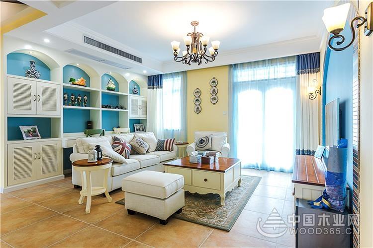 美式地中海風格家居裝修圖