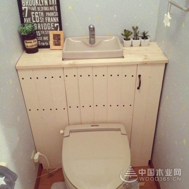卫生间装修,现在都流行这样安装收纳柜