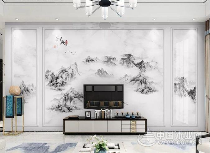 6款客厅背景墙装饰设计图