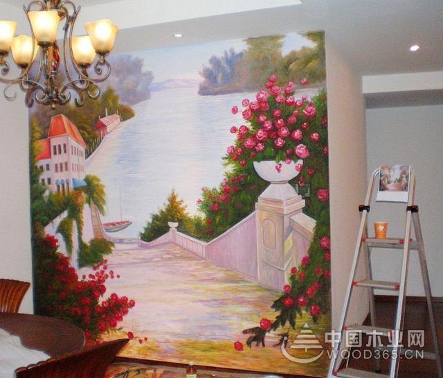 20款手绘背景墙图案,给墙面手绘一幅画!