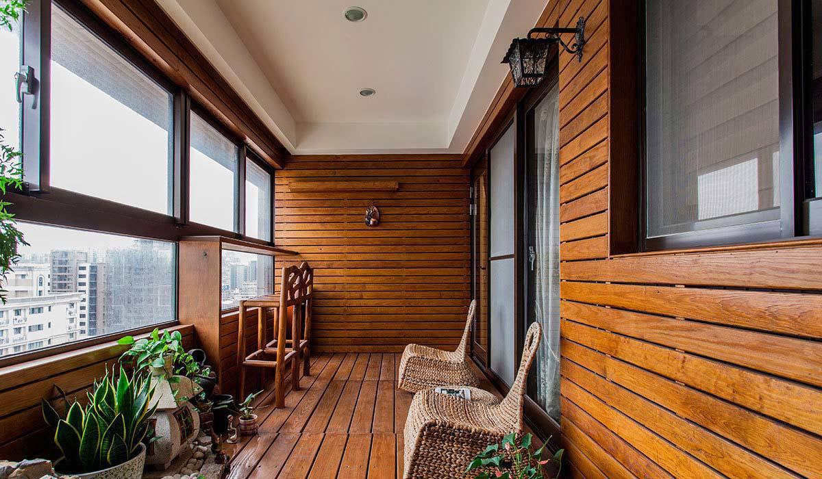 松木板室内装修效果图