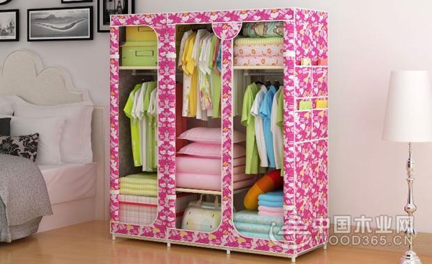 简易布衣柜的安装方法