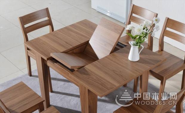 什么是可伸缩餐桌,可伸缩餐桌优缺点和材质介绍