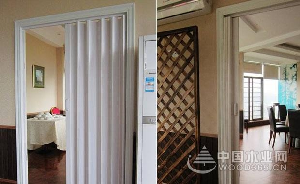 pvc折疊門安裝和價格介紹