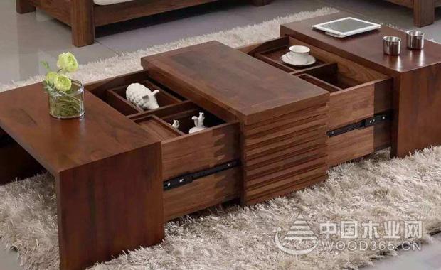 木制茶具收纳柜功能