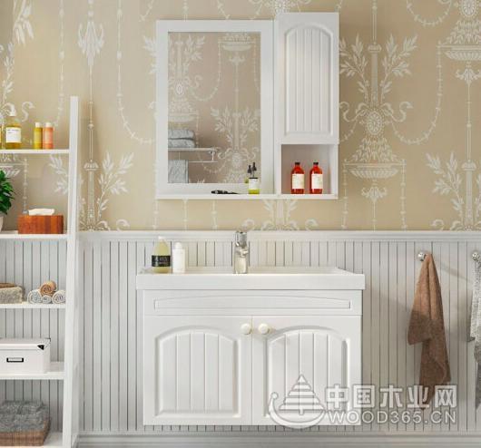 精致实木浴室柜,轻松洗漱好心情