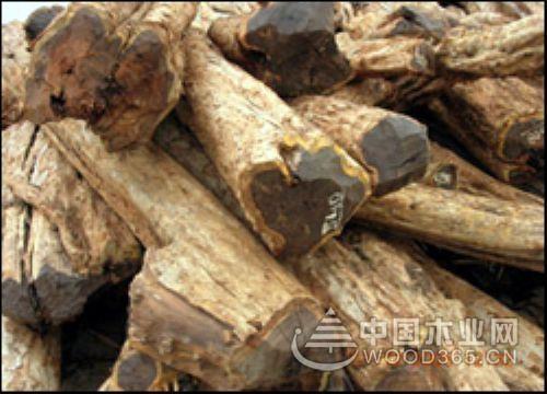 缅甸花梨原木和乌纹木区别