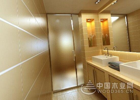 卫生间玻璃门的清洁方法