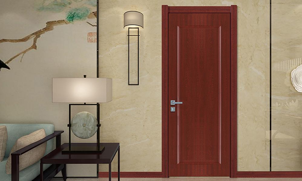 图3:3D木门新中式木门与木质家具交相呼应-3D木门新中式风唯美婉约