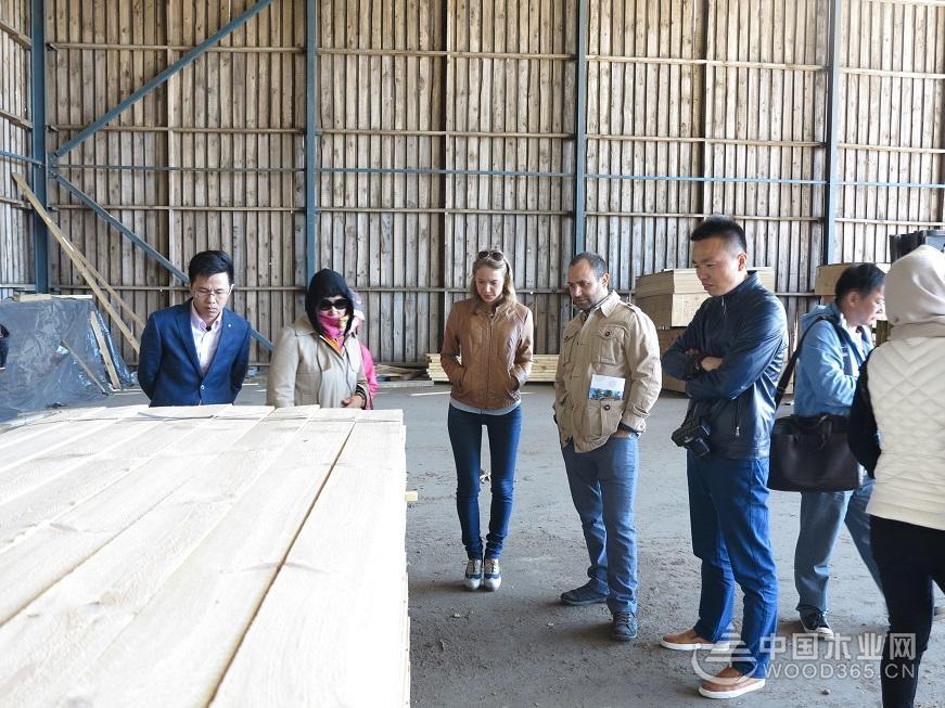 其木材加工设备和技术十分先进,规模以上木材加工厂及制材厂自动化