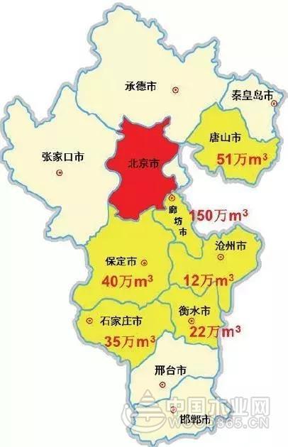 河北省刨花板生产线及产能分布