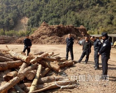 玉溪峨山开展木材加工厂集中清查