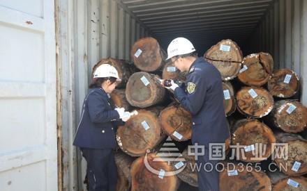 一季度浙江湖州口岸进口木材9347立方