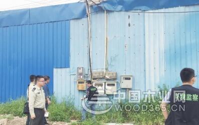 佛山西樵环保检查 一家具厂存在安全隐患被查封