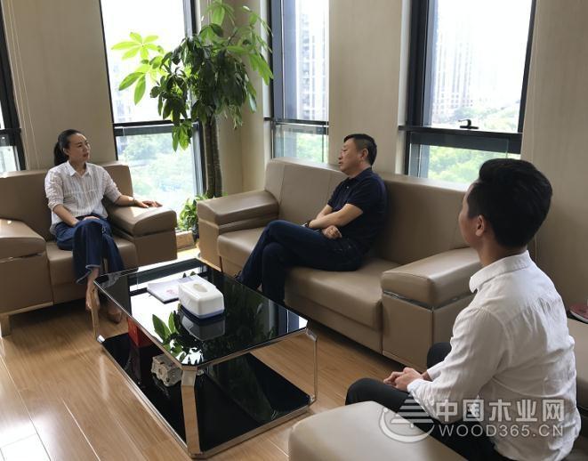 携手共进 芦花板材董事长张丙坤到访永乐国际