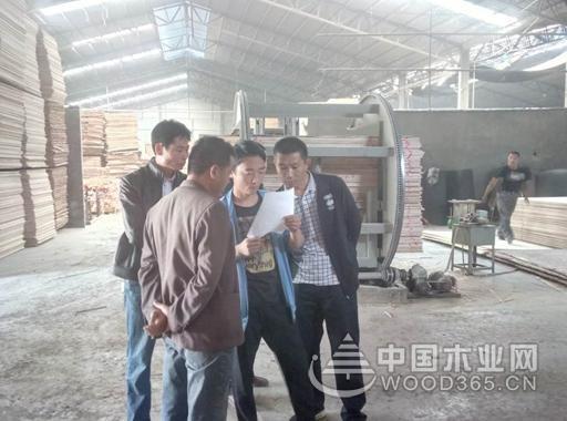 """山东平邑对涉尘涉爆木材加工企业进行 """"菜单式""""复查"""